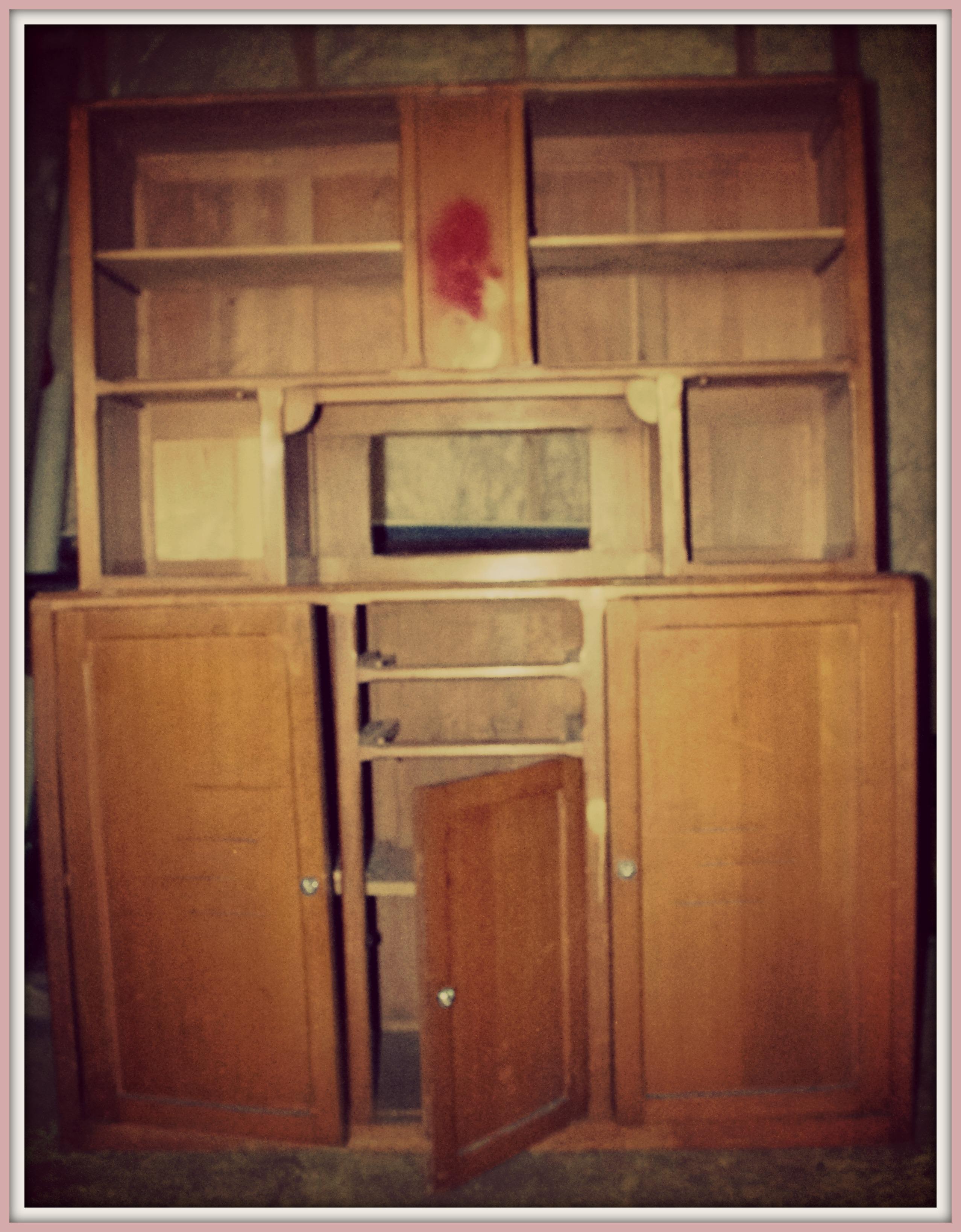 Apprentiecharpente meuble des ann es 50 customis - Reprise de vieux meubles ...